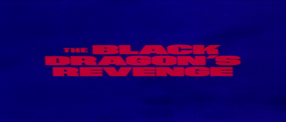 Black Dragon's Revenge