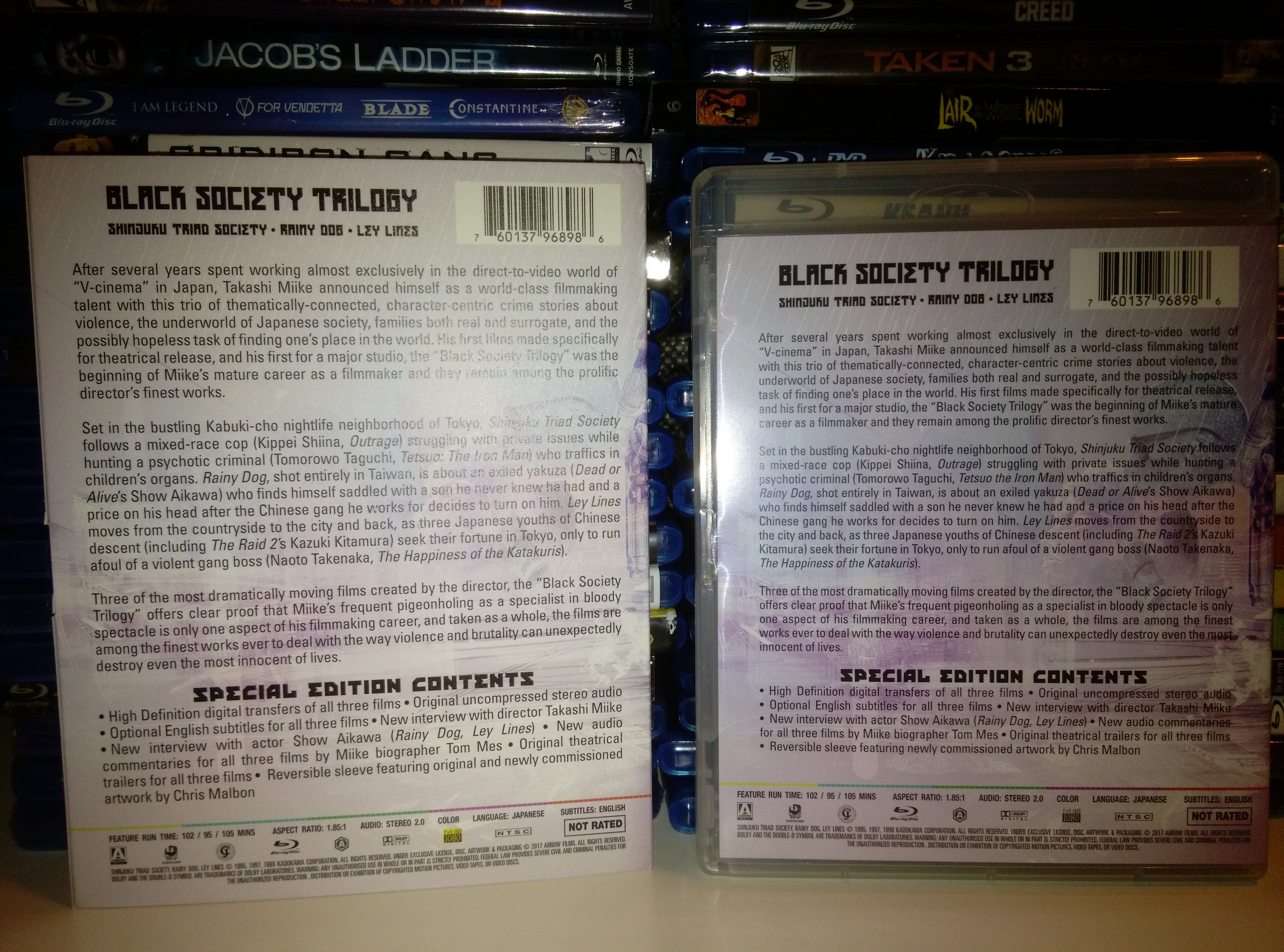 Black Society Trilogy Back