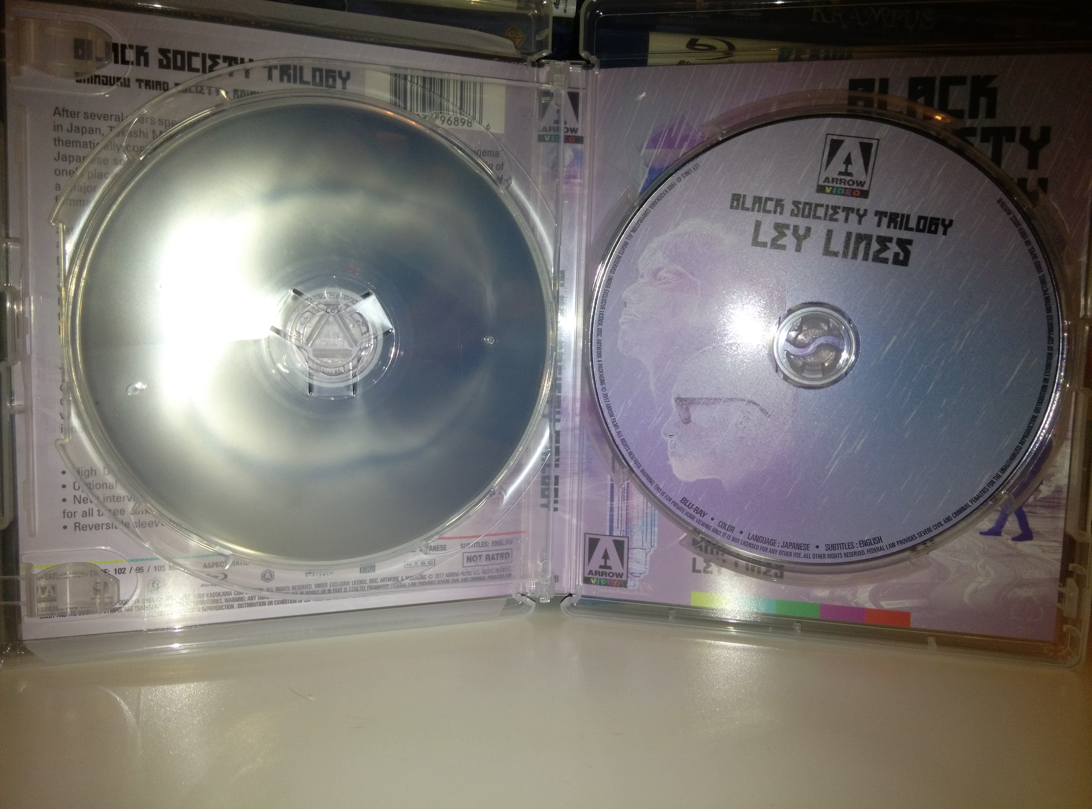 Black Society Trilogy Disc