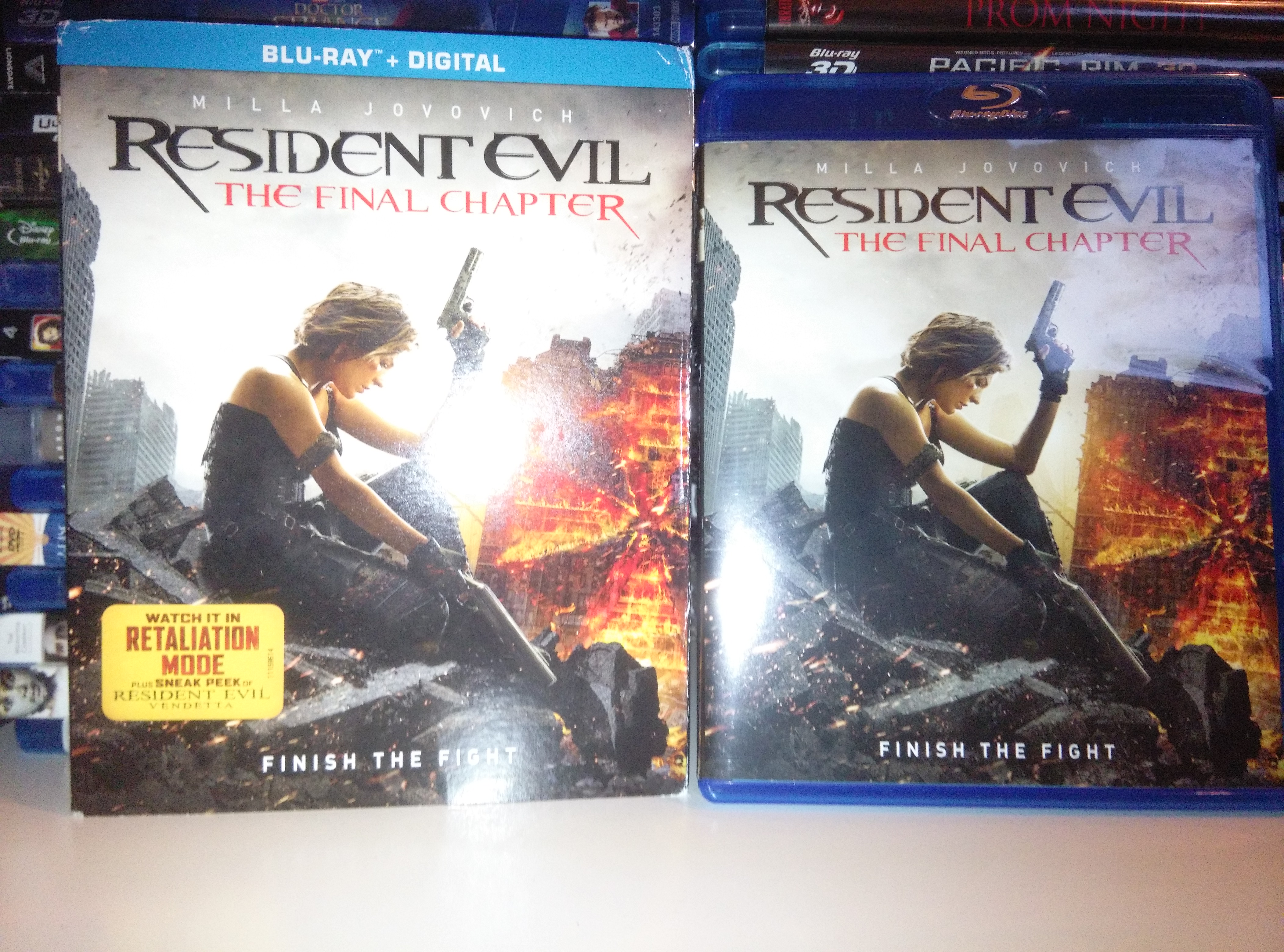 Resident Evil: The Final Chapter front