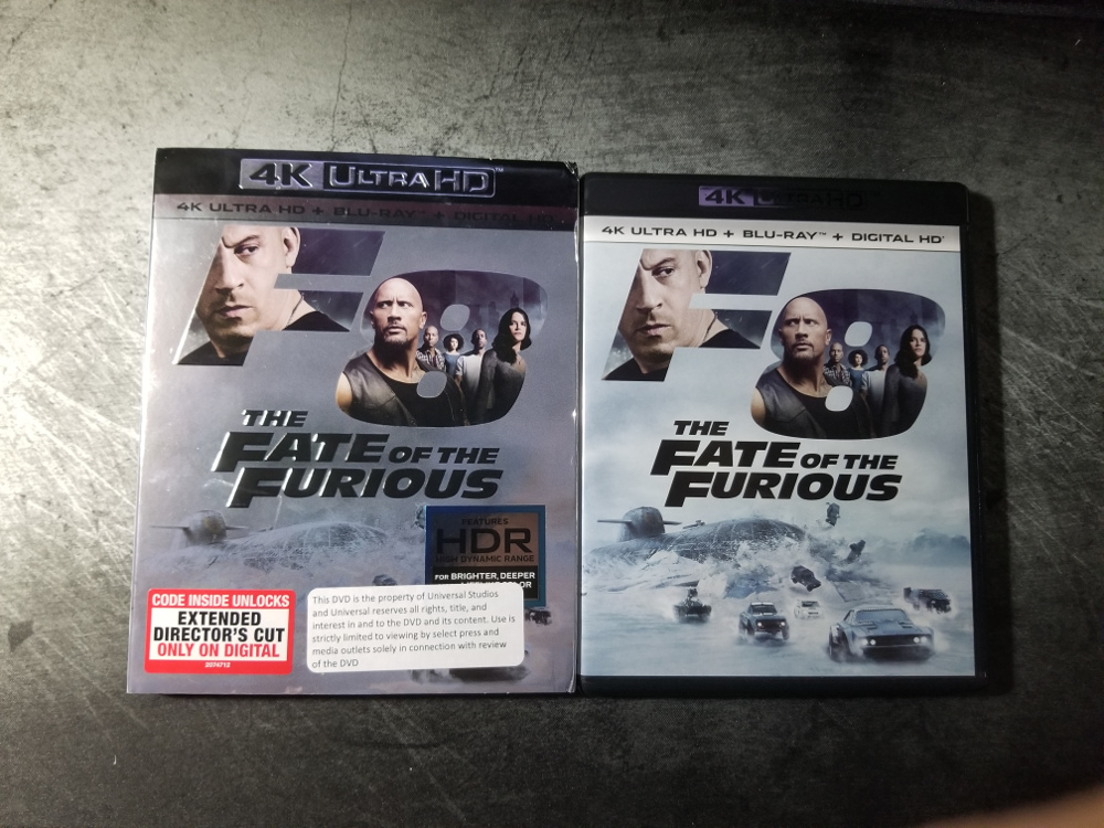 The Fate of the Furious - 4K UHD Review - The Nerd Mentality