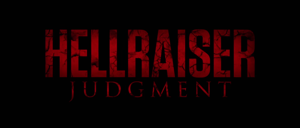 Hellraiser: Judgment arrives