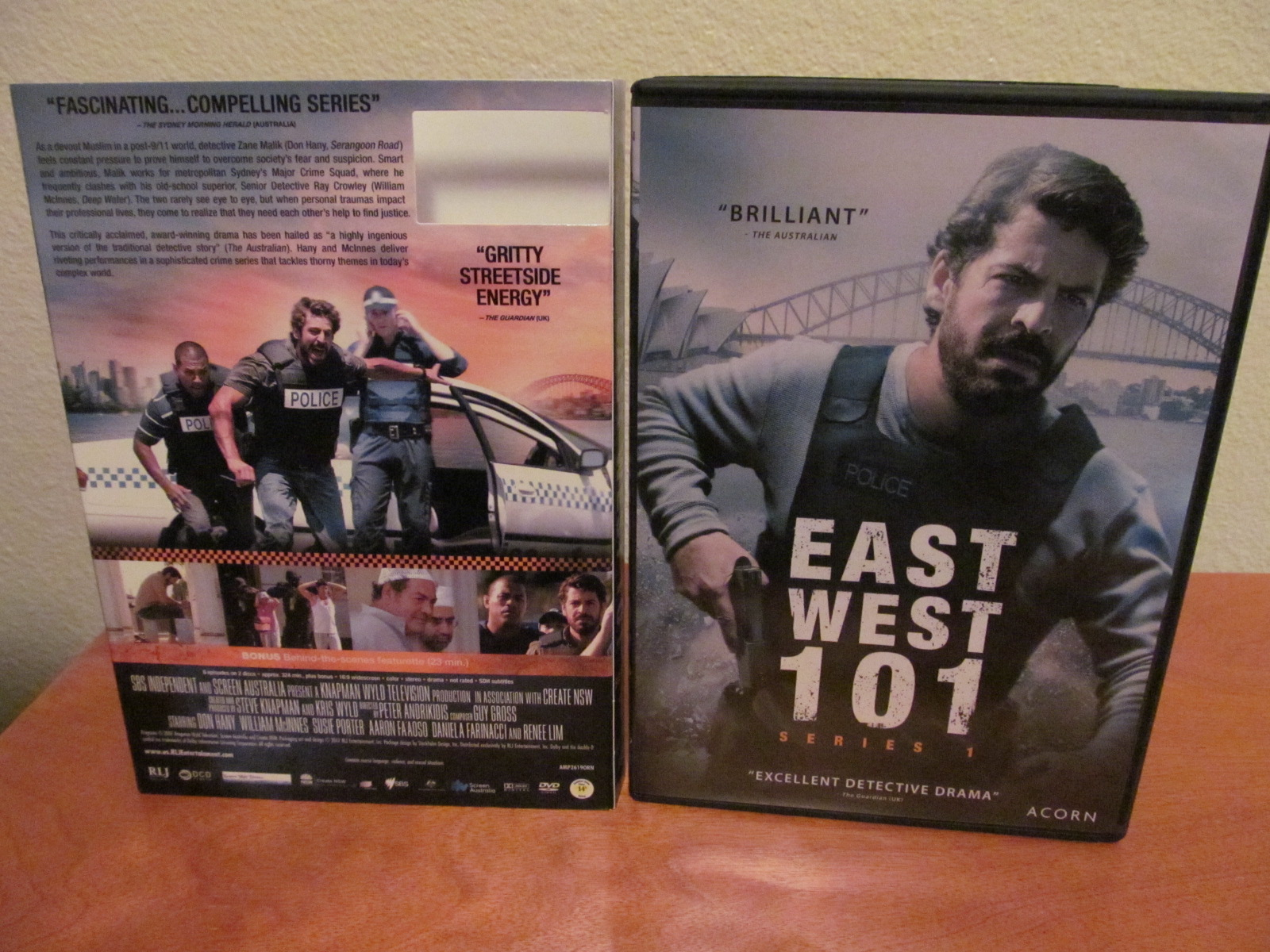 East West 101 Series 1 (2007) Acorn TV DVD Review - The Nerd Mentality