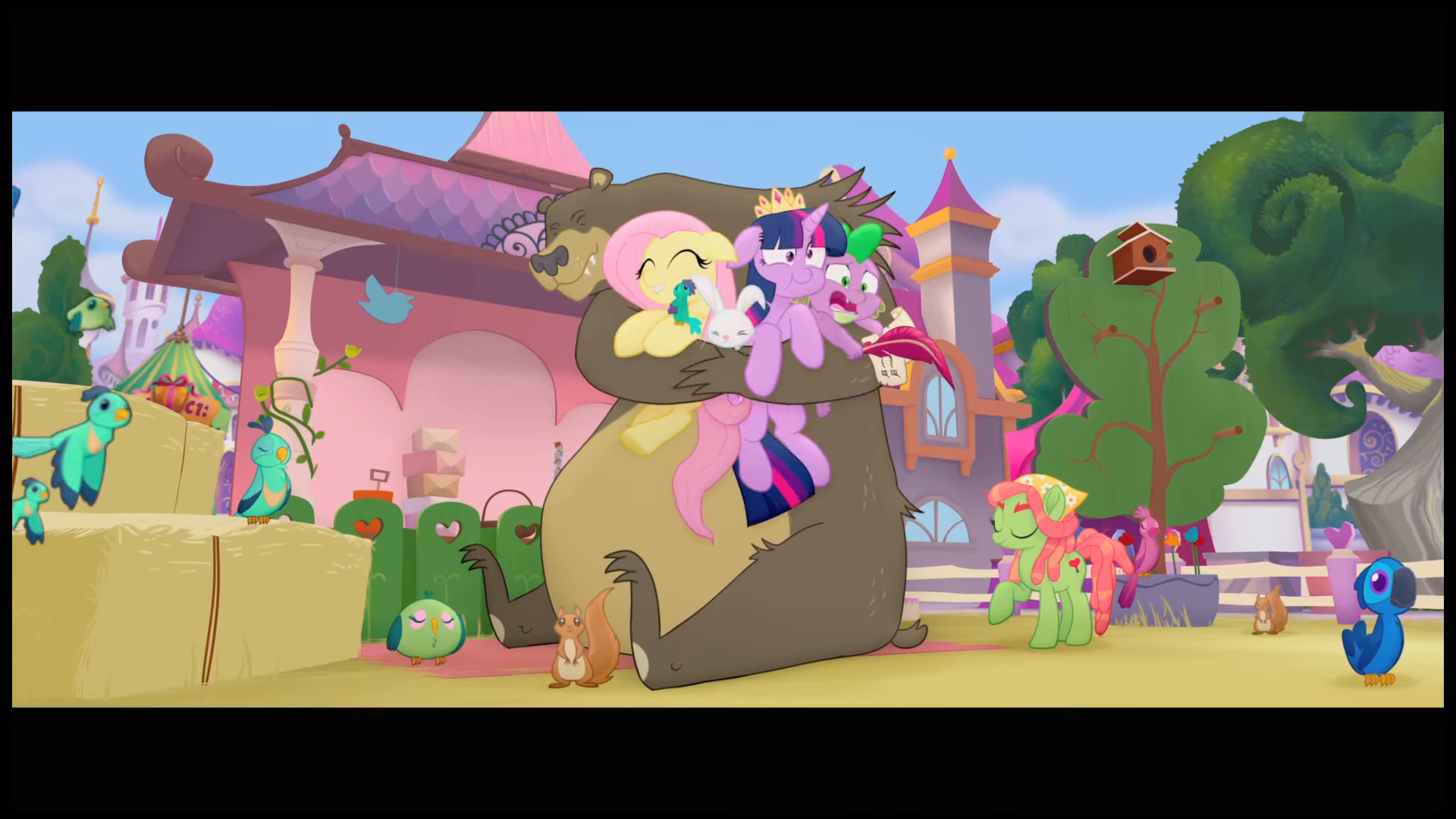 My Little Pony The Movie (2017) Blu-ray Review - The Nerd ...
