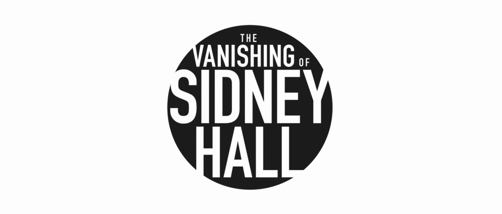 Vanishing of Sidney Hall arrives