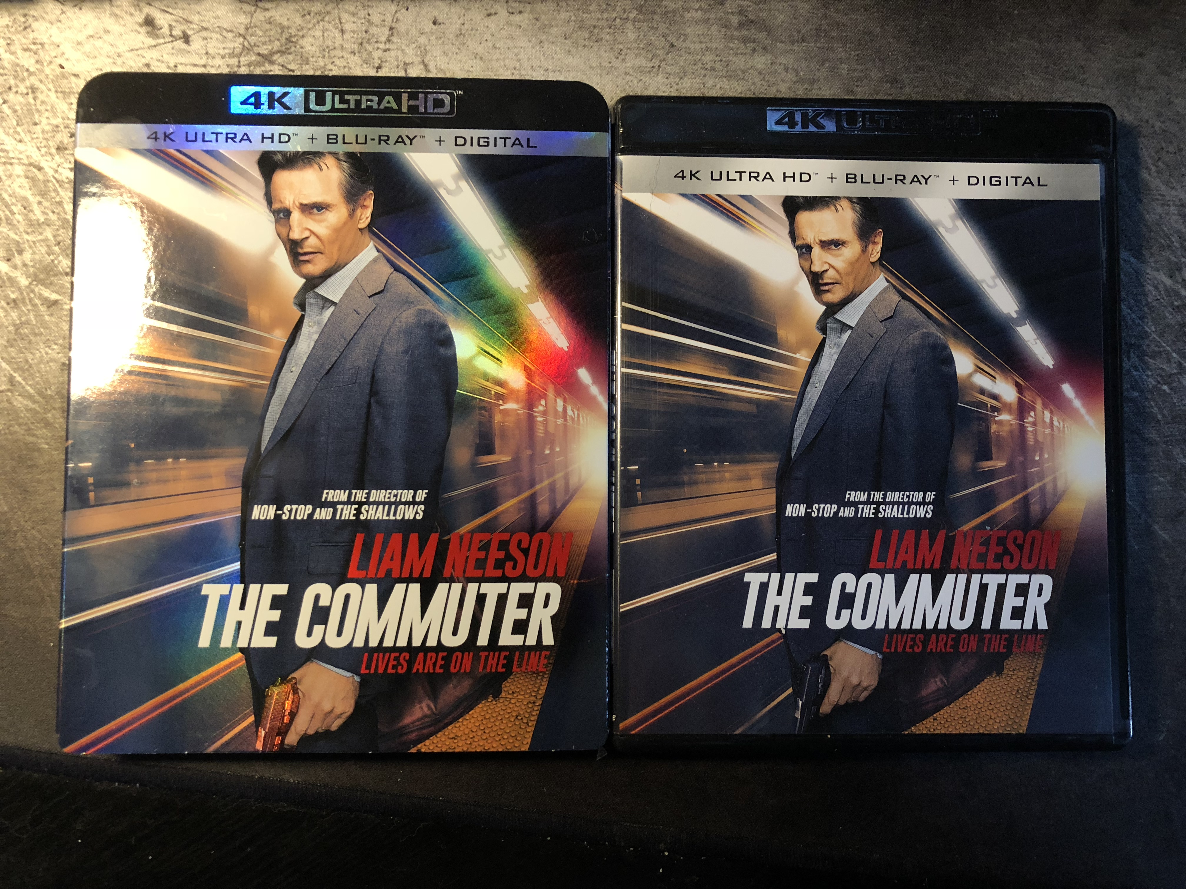 The Commuter 2018 4k Uhd Review The Nerd Mentality